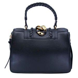 Big Chain black handbag