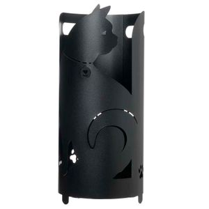 Umbrella stand Black cat