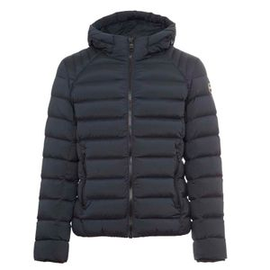 1285 navy blue down jacket in stretch fabric