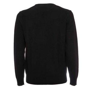 Crewneck sweater in Italian wool