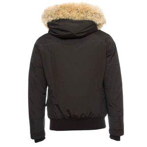 Parka Polar Detachable Fur nero