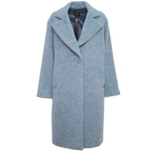 90'S Style coat in alpaca blend