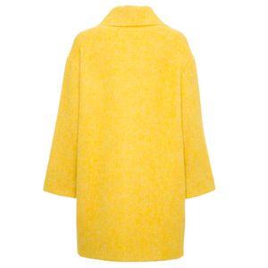 Cocoon coat in alpaca blend