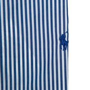 Slim fit striped shirt with pony