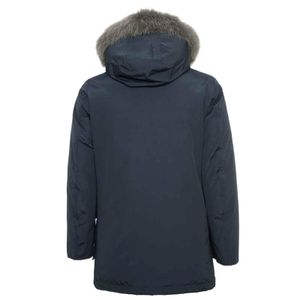 Parka Arctic Tone On tone Fur blu navy