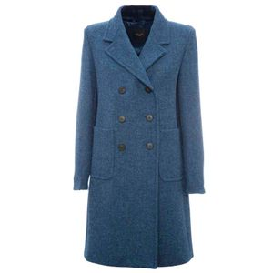 Borel double-breasted coat