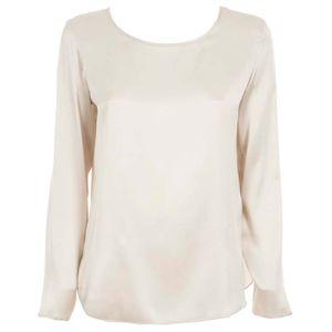 Moldava silk satin blouse