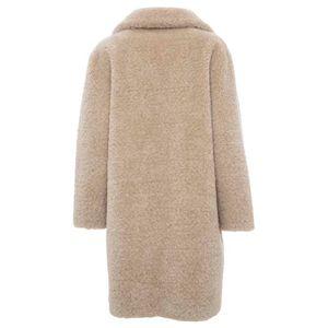 Trama teddy coat