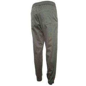 Pantaloni jogger in lyocell stretch