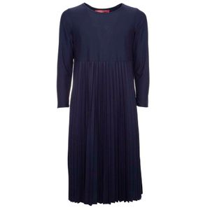 Long dress in Ombrato viscose jersey