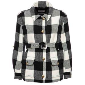 Shirt jacket with Mira1 belt