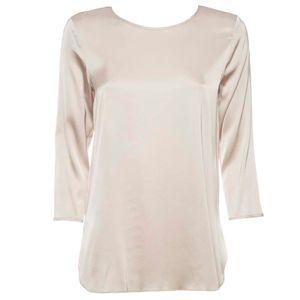 Satin-effect viscose sweater