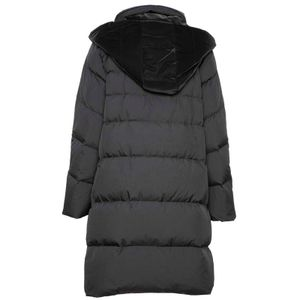 Oversized doubleface black jacket