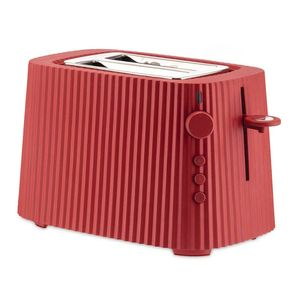 Red Plissè electric toaster