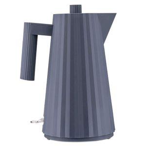 Large gray Plissè electric kettle