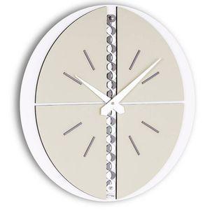 Galatea white dove-gray clock