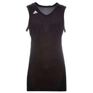 Two-tone basketball tank top with logo