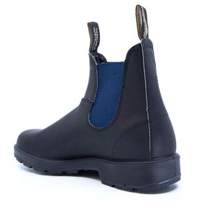 1917 black and blue ankle boot