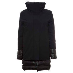 Parka Winter Light Coat Lady nero