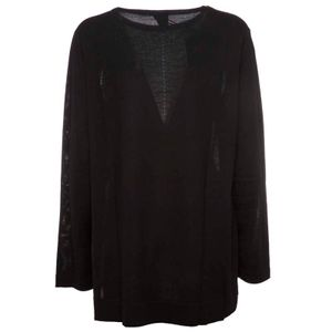 Long sweater in pure Arcadia wool