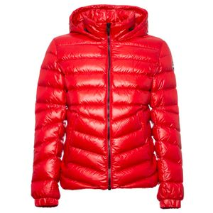 Glossy down jacket 1271R red