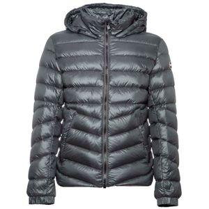 1271R gray glossy down jacket