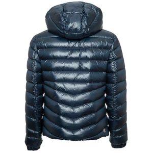 1271R blue glossy down jacket