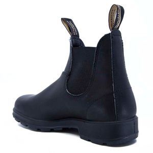 510 black leather ankle boot