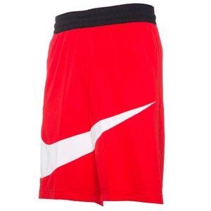 Red basketball shorts