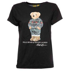 T-Shirt Polo Bear nera