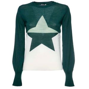 Vip embroidered star sweater