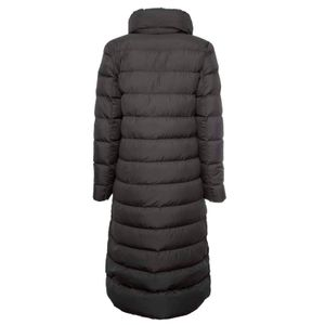 Ellis long black down jacket