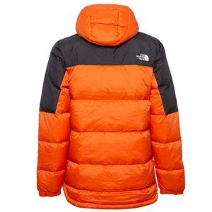 Diablo two-tone hooded down jacket