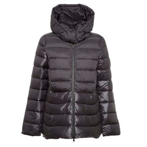 Davos black padded jacket